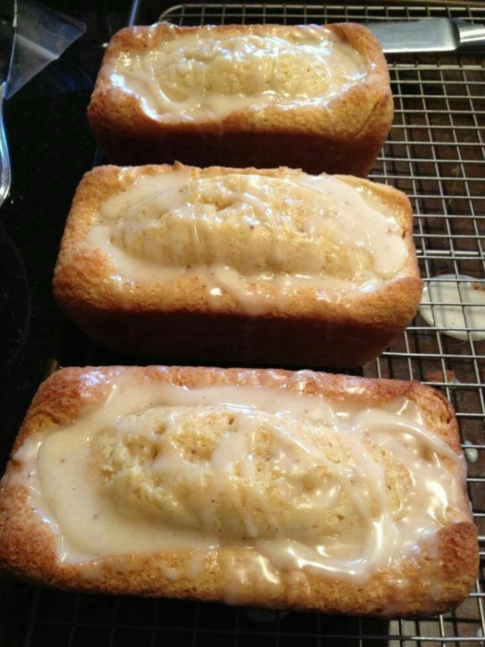 Eggnog Bread - makes Fantastic Christmas Gifts!