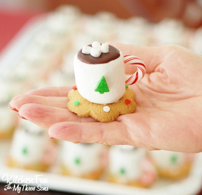 Chocolate marshmallow christmas cookies – Food ideas recipes
