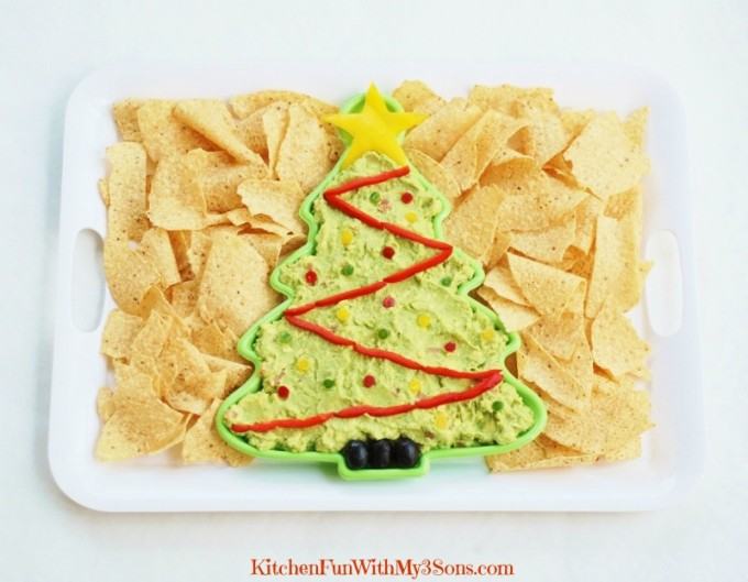 Christmas Guacamole Recipe — Dishmaps