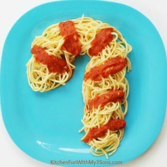 Candy Cane Spaghetti