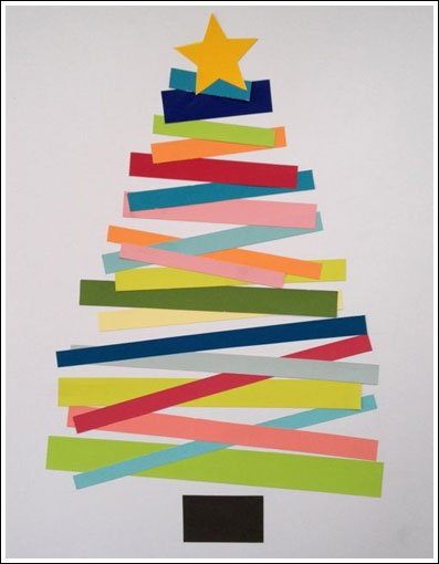 Christmas Paper Tree Craft