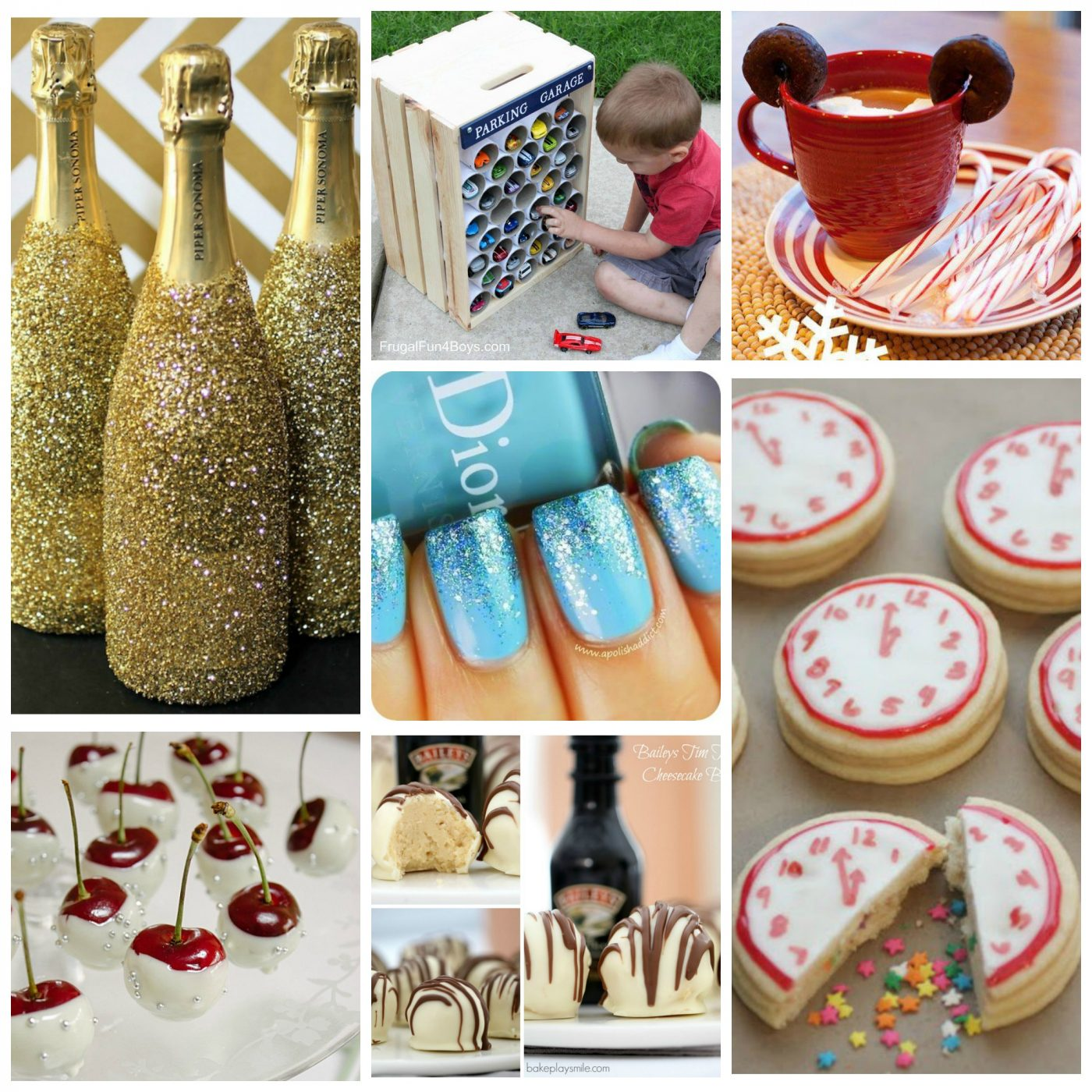 Kitchen Fun And Crafty Friday Link Party 167: Fun Finds Friday Including New Years & Other Fantastic