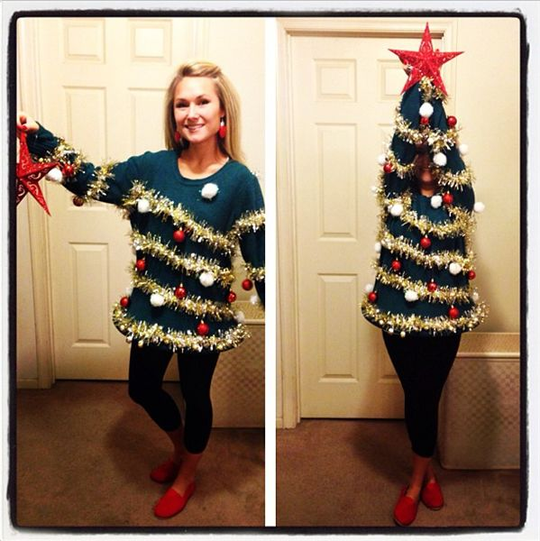 Ugly Christmas Tree Sweater...so fun!