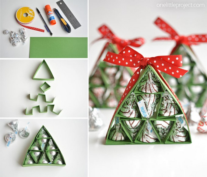 Hershey's Kisses Christmas Trees