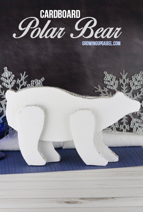 Cardboard Polar Bear Craft