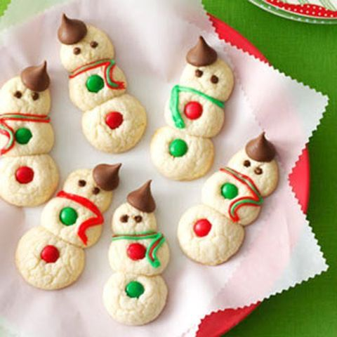 Snowman Cookies for Christmas!