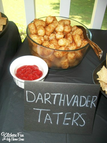 Star Wars Darth Vader Tater Tots