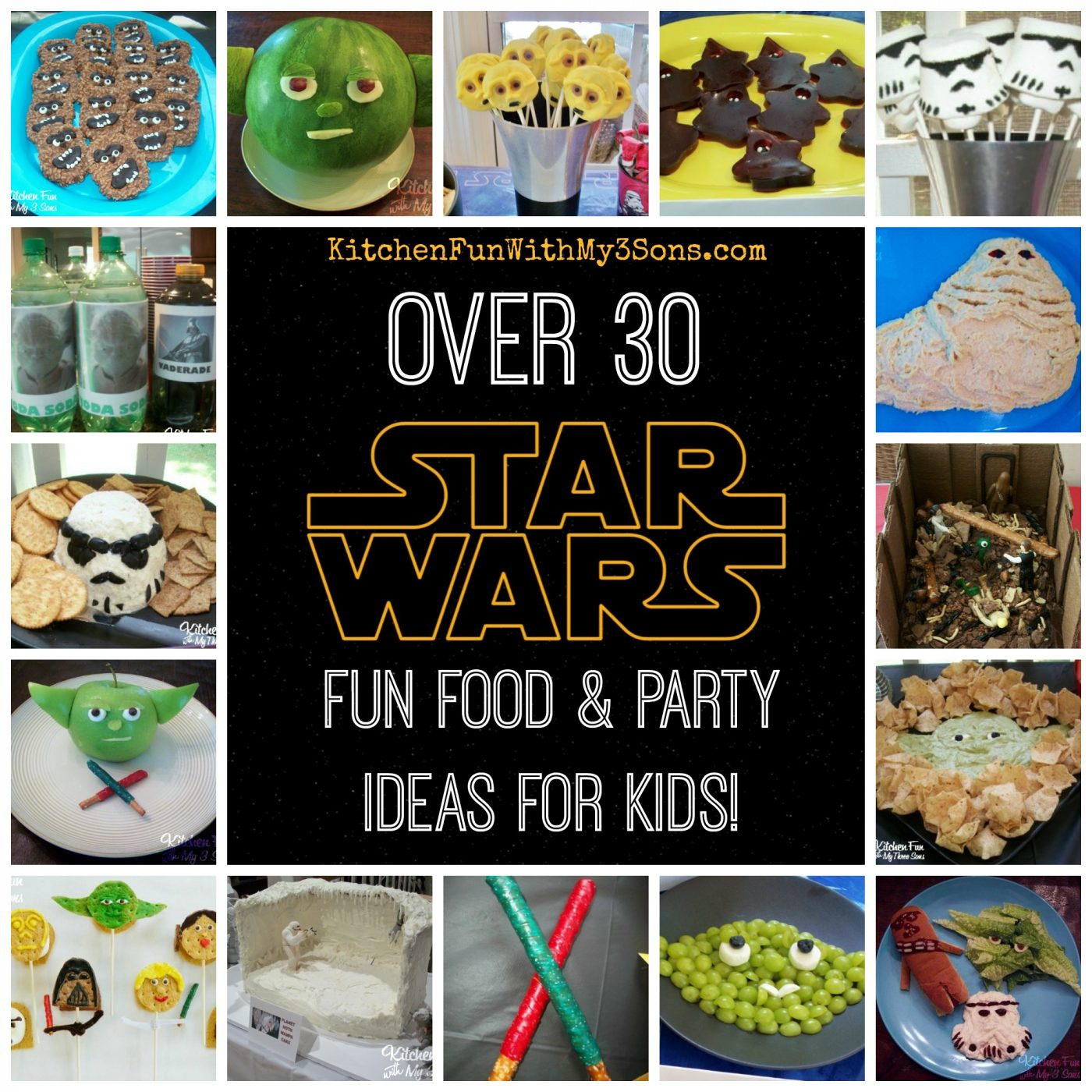 May The Fourth Be With You Party Ideas: Star Wars Fun Food & Party Ideas...our Full Collection