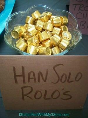 Star Wars Han Solo Rolos