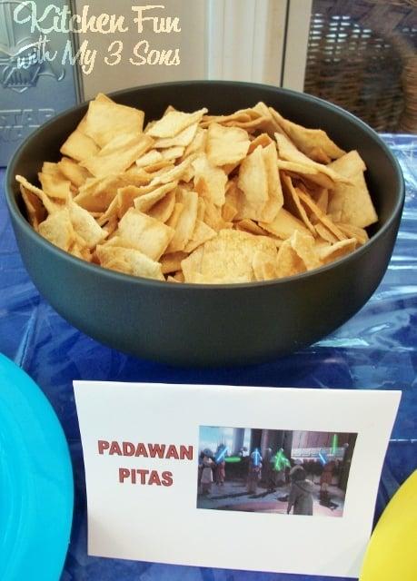 Star Wars Padawan Pita Chips