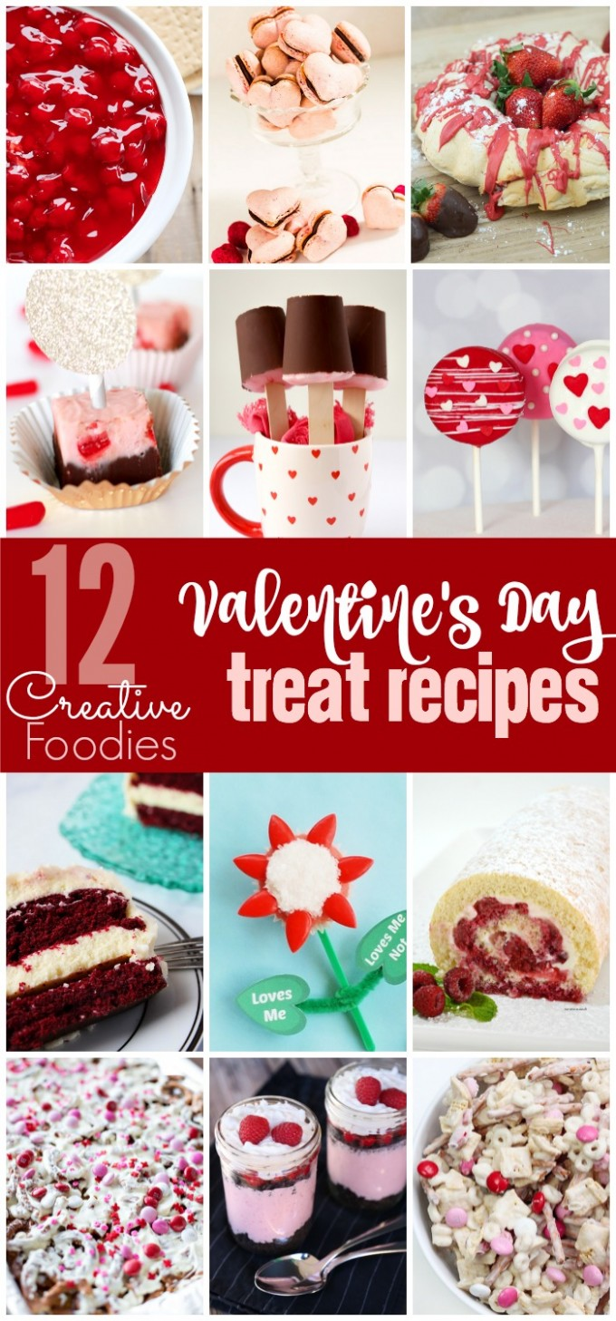 12 Valettine's Day Treat & Dessert Recipes