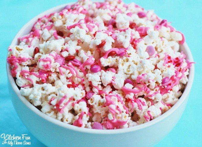 Image result for valentines popcorn