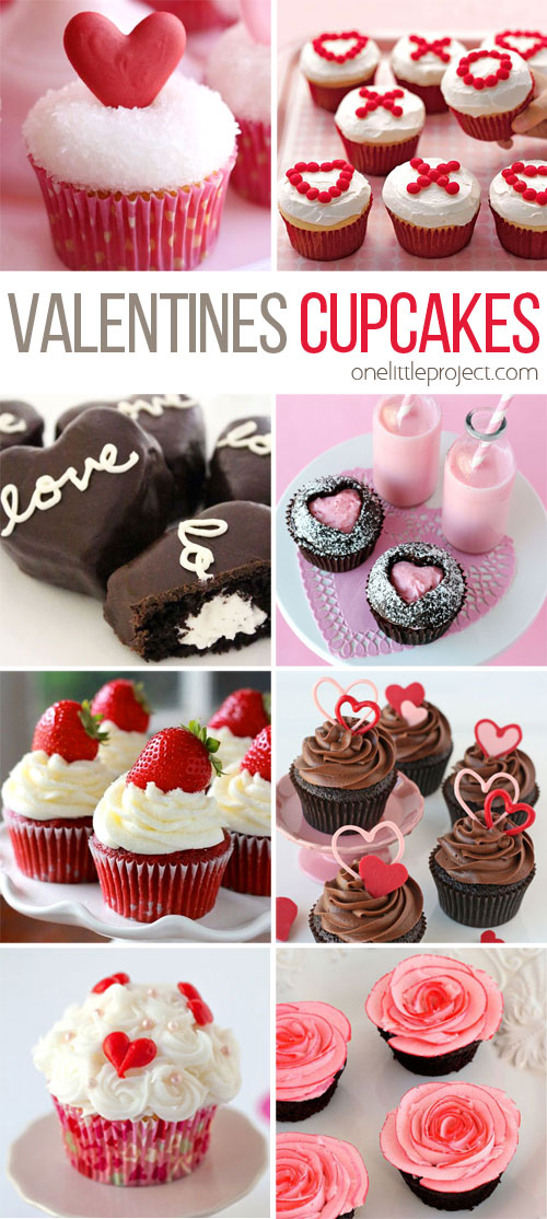 35+ Valentine's Day Cupcake Recipes