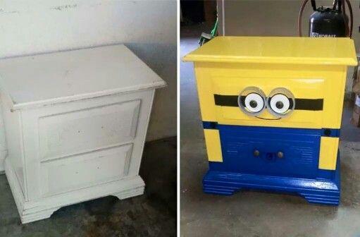 DIY Minion Dresser
