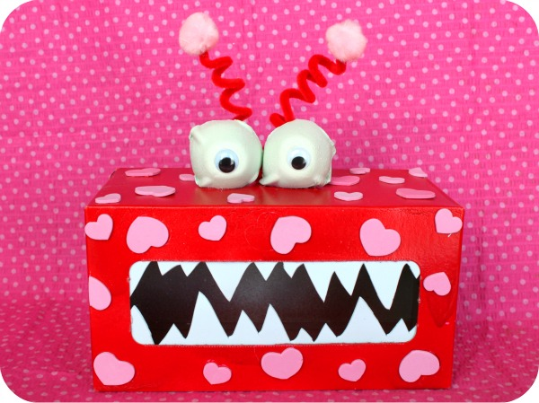 Valentine Monster Boxes