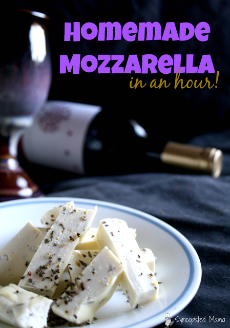 Homemade Mozzarella in an Hour!