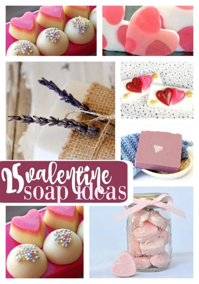 25 Valentine Soap Ideas
