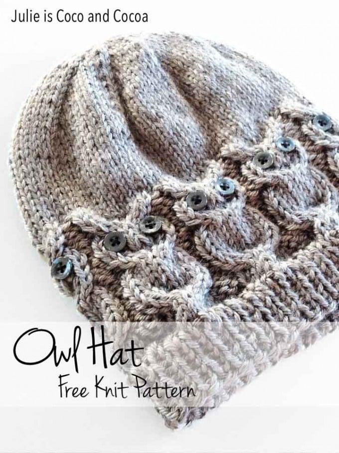 Crochet Owl Hat Tutorial