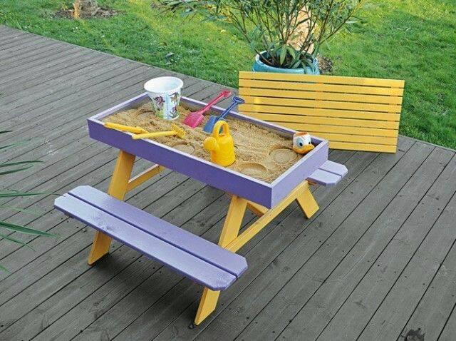Sandbox Picnic Table