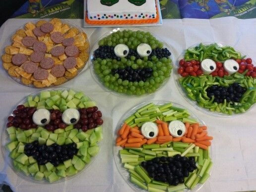Teenage Mutant Ninja Turtles Veggies