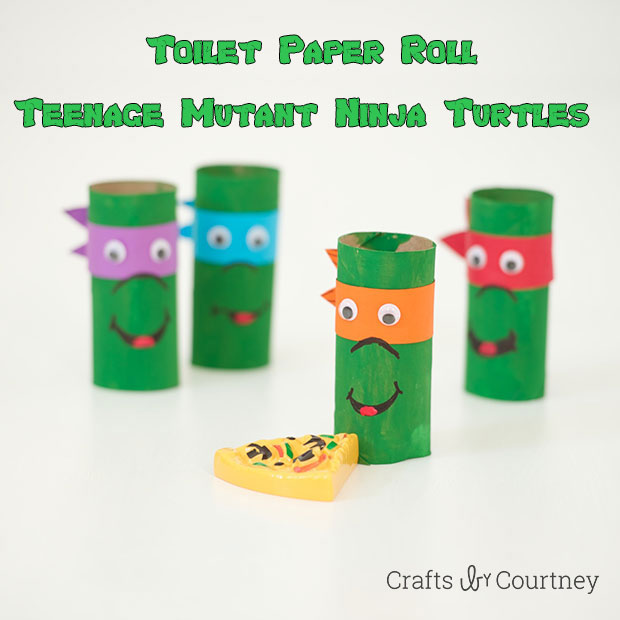 Teenage Mutant Ninja Turtles Toilet Paper Tube Craft