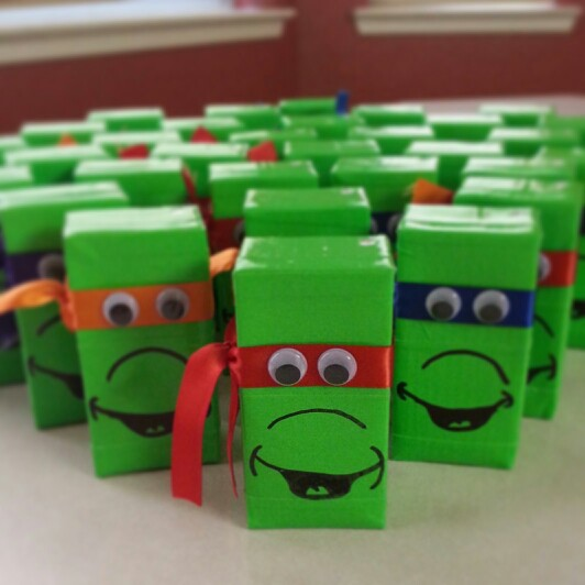 Teenage Mutant Ninja Turtle Juice Boxes