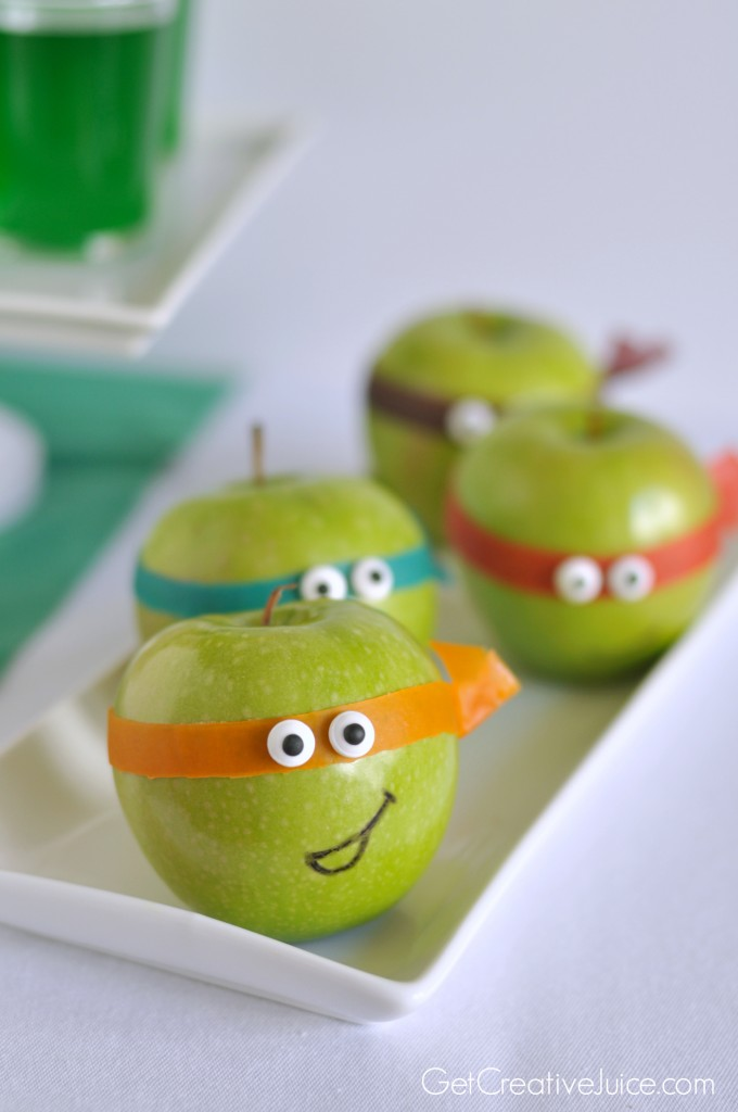 Teenage Mutant Ninja Turtles Apple Snack
