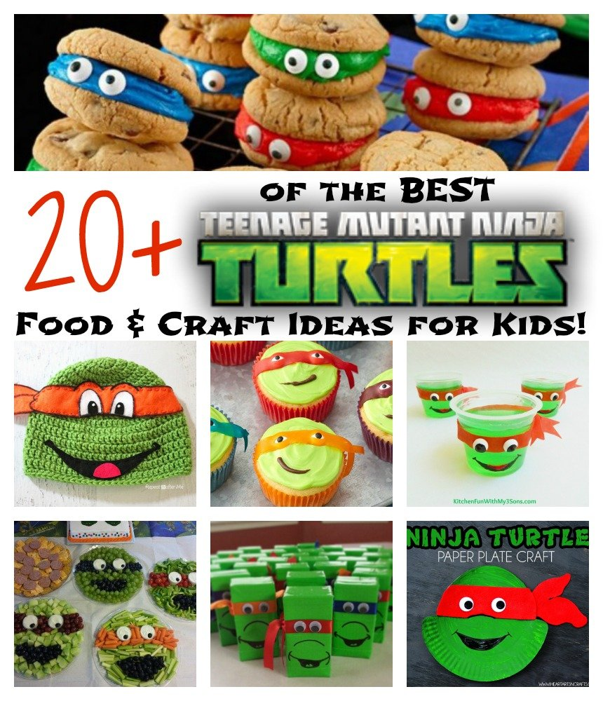 20 ninja turtle party ideas