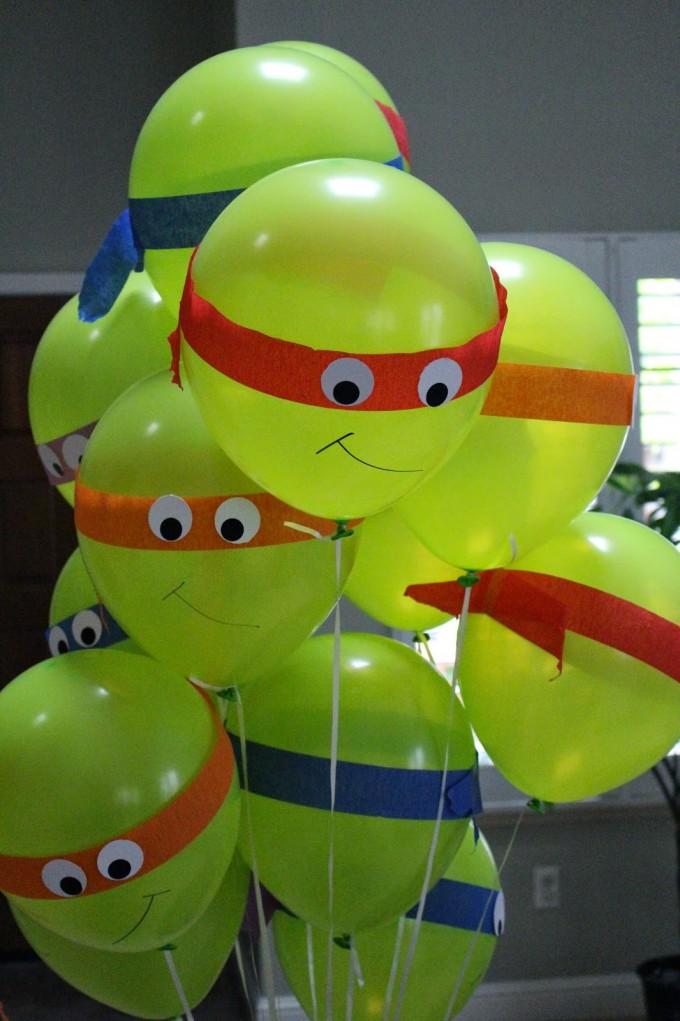 20 Ninja Turtle Party Ideas