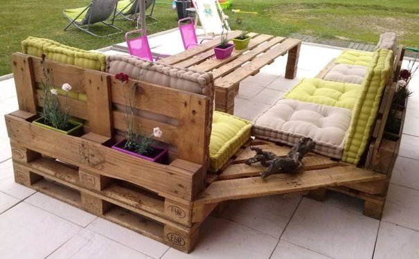 Pinterest pallet sofa furniture trend home design and decor - Decoration avec des palettes ...
