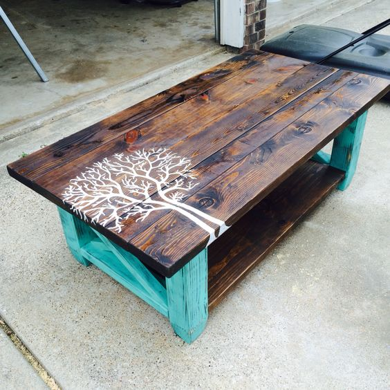 The best diy wood pallet ideas kitchen fun with my 3 sons One of a kind coffee tables