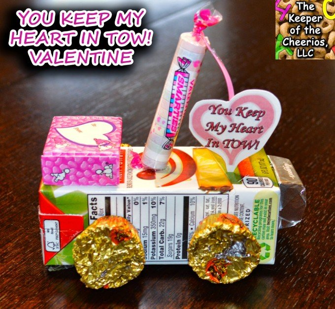 valentines day cards and treats for kids 2 - Valentine Snacks For School