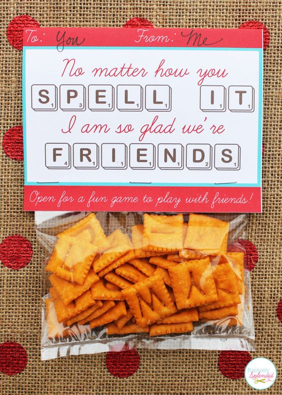 Scrabble Valentine Cards