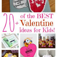 Over 20 of the Best Valentine ideas for Kids!