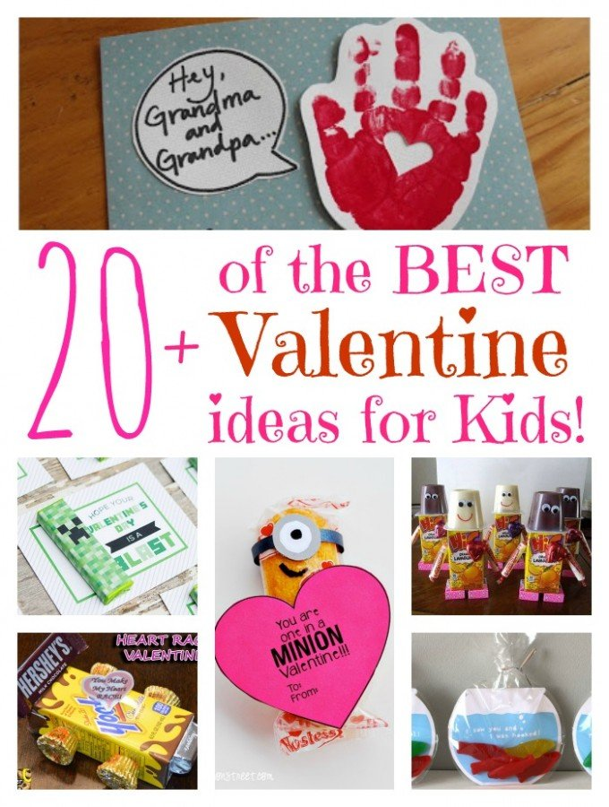 Over 20 of the BEST Valentine ideas for Kids! - Kitchen Fun With ...