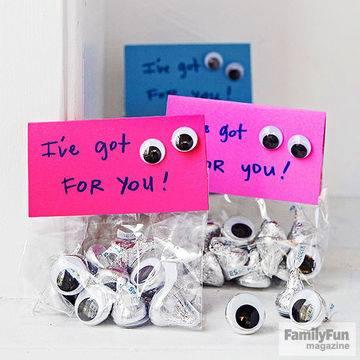 I've Got Eyes On You Hershey Kisses Valentine