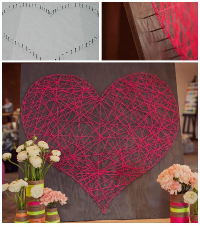 Valentine String Heart Art