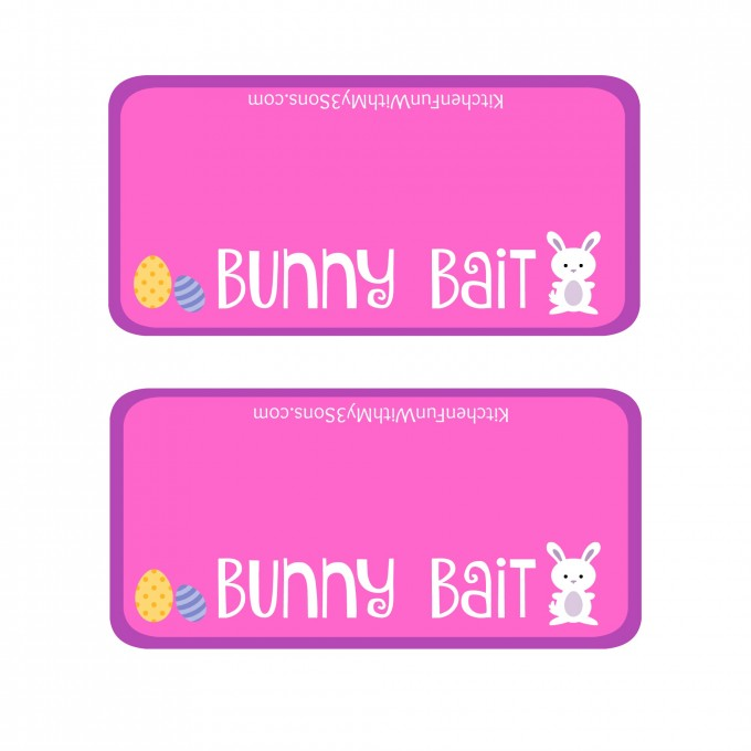 This is a picture of Bright Bunny Bait Printable