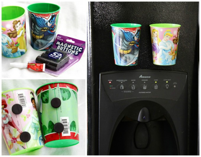 DIY Magnet Cups for your Fridge!