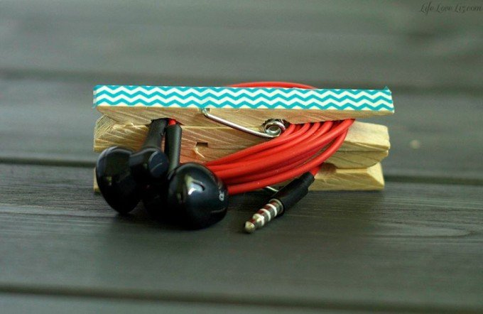 Clothespin for Earplugs & lots of other awesome Home Tips!