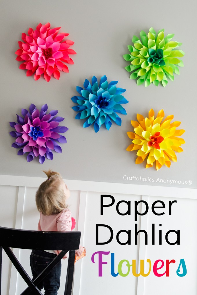 The best diy spring project easter craft ideas for Art and craft flowers