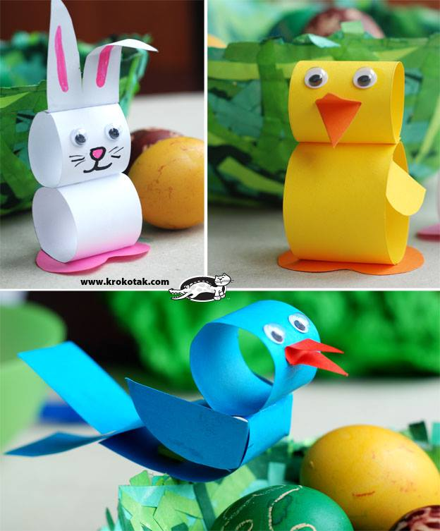 Paper Heart Animal Craft
