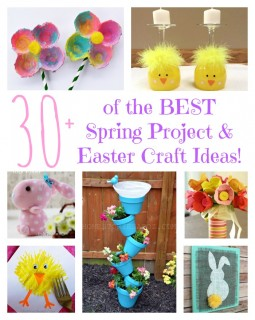 The Best DIY Spring Project & Easter Craft Ideas!