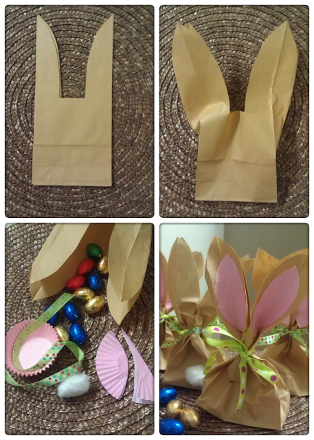 Paper Bag Bunny Treat Bags
