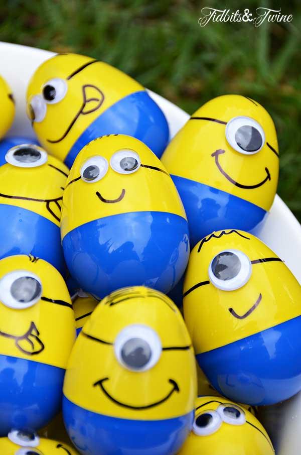 minion plastic easter eggs - Easter Egg Ideas