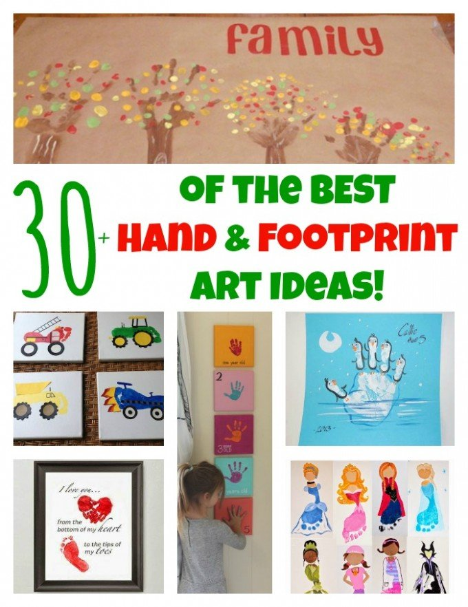 The Best Hand And Footprint Art Ideas Kitchen Fun With My 3 Sons