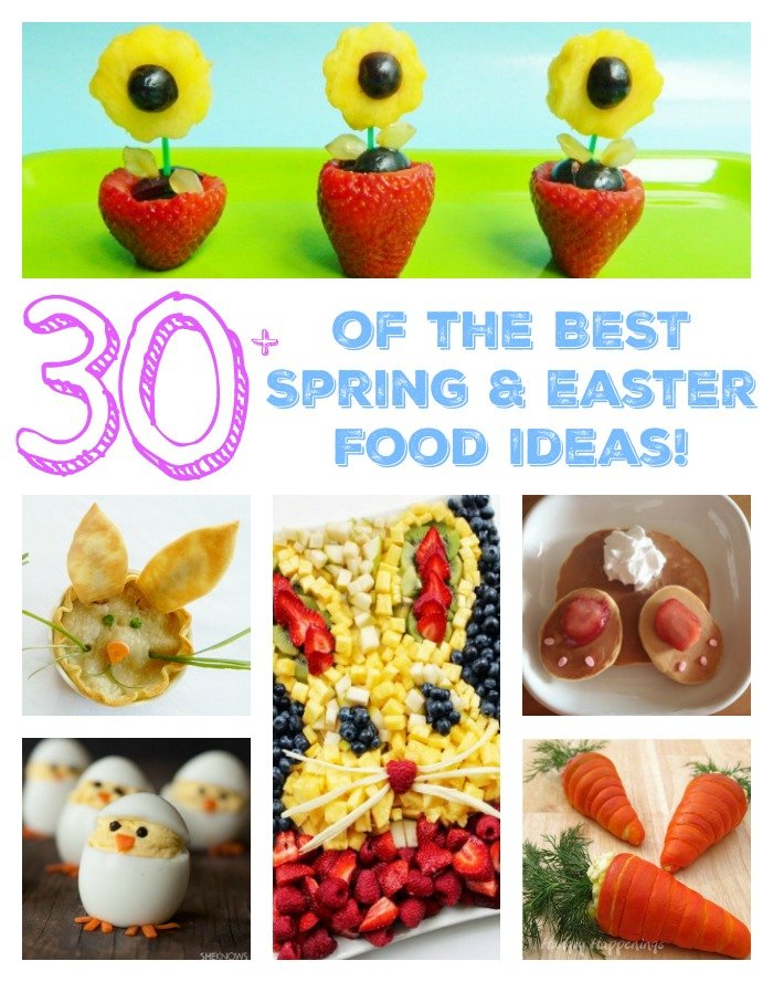 The best spring easter food ideas kitchen fun with my Fun easter brunch ideas
