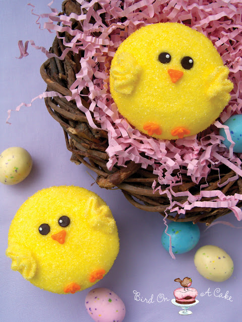 Easy Chick Cupcakes for Easter