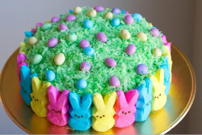 Easter Bunny Ice Cream Cake Recipe