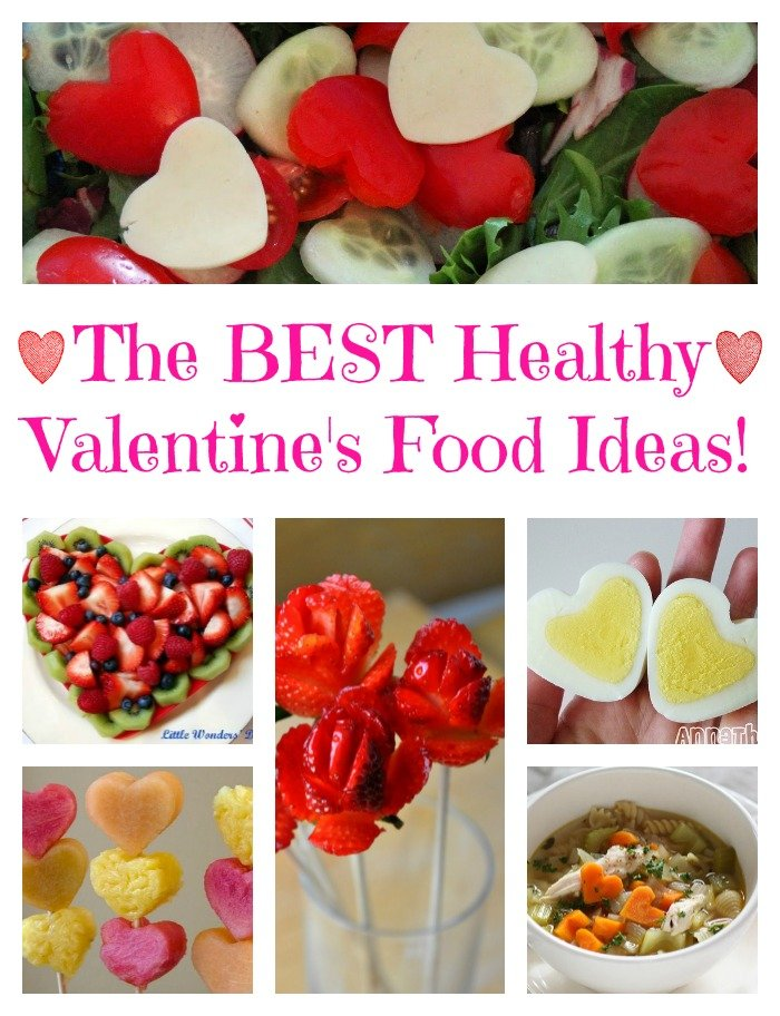 The BEST Valentine's Day Healthy Food Ideas! - Kitchen Fun ...